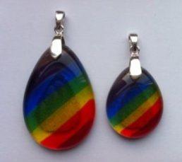 rainbow-pendents